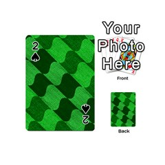 Fabric Textile Texture Surface Playing Cards 54 (Mini)