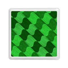 Fabric Textile Texture Surface Memory Card Reader (Square)