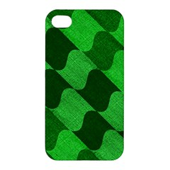 Fabric Textile Texture Surface Apple iPhone 4/4S Premium Hardshell Case