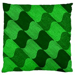 Fabric Textile Texture Surface Large Cushion Case (two Sides)