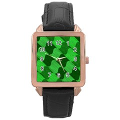 Fabric Textile Texture Surface Rose Gold Leather Watch