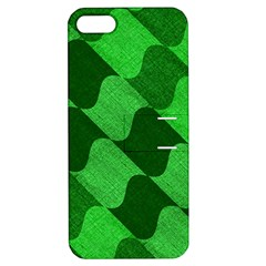 Fabric Textile Texture Surface Apple iPhone 5 Hardshell Case with Stand