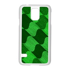 Fabric Textile Texture Surface Samsung Galaxy S5 Case (white)