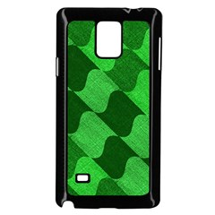Fabric Textile Texture Surface Samsung Galaxy Note 4 Case (Black)