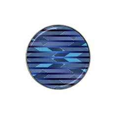 Fabric Texture Alternate Direction Hat Clip Ball Marker (4 pack)