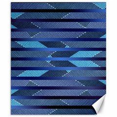 Fabric Texture Alternate Direction Canvas 20  x 24