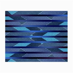 Fabric Texture Alternate Direction Small Glasses Cloth (2-Side)