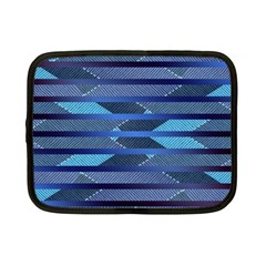 Fabric Texture Alternate Direction Netbook Case (Small)