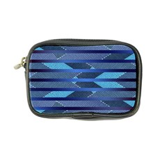Fabric Texture Alternate Direction Coin Purse