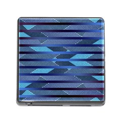 Fabric Texture Alternate Direction Memory Card Reader (square)