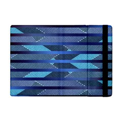 Fabric Texture Alternate Direction Apple Ipad Mini Flip Case