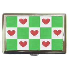 Fabric Texture Hearts Checkerboard Cigarette Money Cases