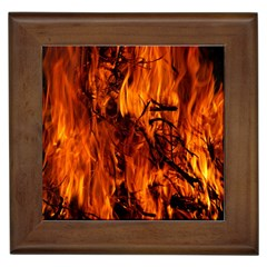 Fire Easter Easter Fire Flame Framed Tiles