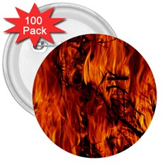 Fire Easter Easter Fire Flame 3  Buttons (100 pack)