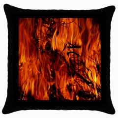 Fire Easter Easter Fire Flame Throw Pillow Case (Black)