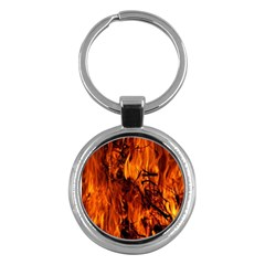 Fire Easter Easter Fire Flame Key Chains (Round)
