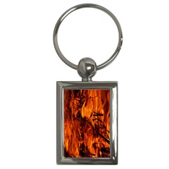 Fire Easter Easter Fire Flame Key Chains (rectangle)