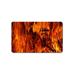 Fire Easter Easter Fire Flame Magnet (Name Card)
