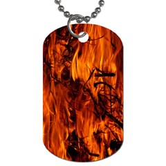 Fire Easter Easter Fire Flame Dog Tag (one Side)