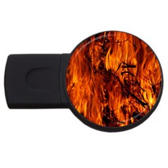 Fire Easter Easter Fire Flame Usb Flash Drive Round (2 Gb)