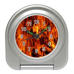 Fire Easter Easter Fire Flame Travel Alarm Clocks