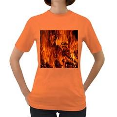 Fire Easter Easter Fire Flame Women s Dark T-Shirt