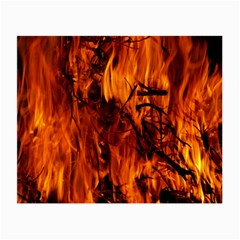 Fire Easter Easter Fire Flame Small Glasses Cloth