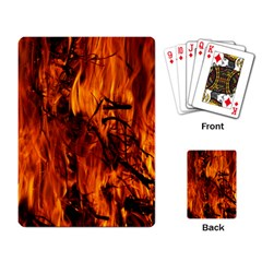 Fire Easter Easter Fire Flame Playing Card