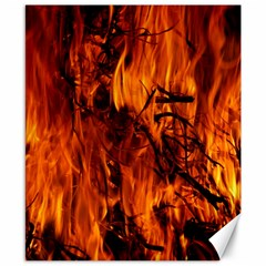 Fire Easter Easter Fire Flame Canvas 8  x 10