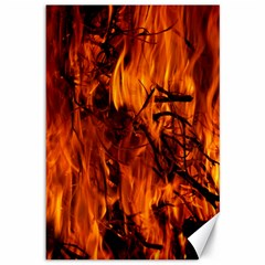 Fire Easter Easter Fire Flame Canvas 12  x 18