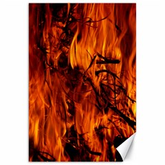 Fire Easter Easter Fire Flame Canvas 20  X 30