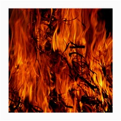 Fire Easter Easter Fire Flame Medium Glasses Cloth (2-Side)