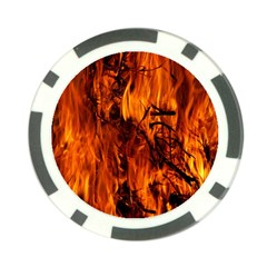 Fire Easter Easter Fire Flame Poker Chip Card Guard