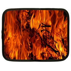 Fire Easter Easter Fire Flame Netbook Case (large)
