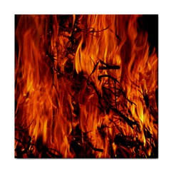 Fire Easter Easter Fire Flame Face Towel