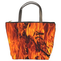 Fire Easter Easter Fire Flame Bucket Bags