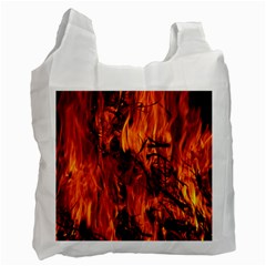 Fire Easter Easter Fire Flame Recycle Bag (Two Side)