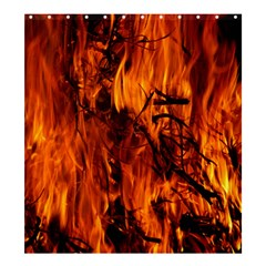 Fire Easter Easter Fire Flame Shower Curtain 66  X 72  (large)