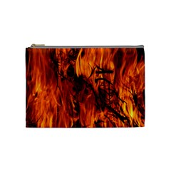 Fire Easter Easter Fire Flame Cosmetic Bag (medium)