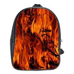 Fire Easter Easter Fire Flame School Bags(Large)