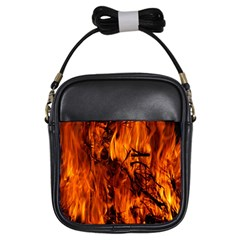 Fire Easter Easter Fire Flame Girls Sling Bags