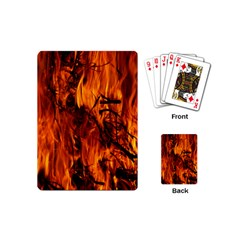 Fire Easter Easter Fire Flame Playing Cards (Mini)
