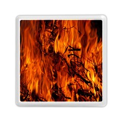 Fire Easter Easter Fire Flame Memory Card Reader (Square)