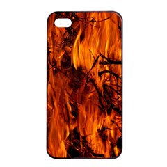 Fire Easter Easter Fire Flame Apple iPhone 4/4s Seamless Case (Black)