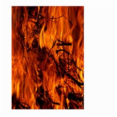Fire Easter Easter Fire Flame Large Garden Flag (Two Sides)