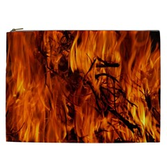 Fire Easter Easter Fire Flame Cosmetic Bag (xxl)