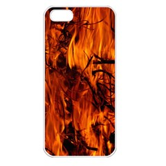 Fire Easter Easter Fire Flame Apple iPhone 5 Seamless Case (White)
