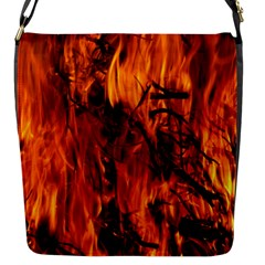 Fire Easter Easter Fire Flame Flap Messenger Bag (s)