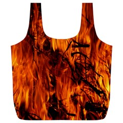 Fire Easter Easter Fire Flame Full Print Recycle Bags (L)