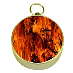 Fire Easter Easter Fire Flame Gold Compasses